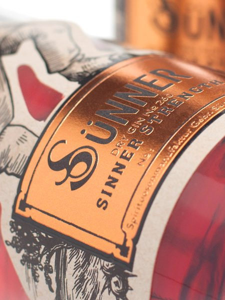 Sünner Dry Gin No. 260 Sinner Strength