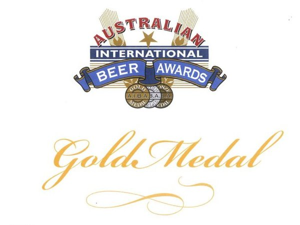 Gold Medal Australian International Beer Awards